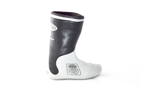 Intuition Boot Liner Powerwrap Black And Grey Fluid