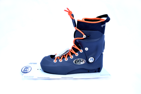 Dutch Auction : EVO Rebel Z Front Boot (Orange Lace) - Fluid Motion Sports - Sproat Lake