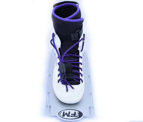 Dutch Auction : EVO Rebel Z Front Boot (Purple Lace) - Fluid Motion Sports - Sproat Lake