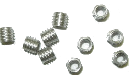 Fasteners: SS Ski Inserts Pkg of 10 w/tool - Fluid Motion Sports - Sproat Lake