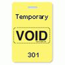 Reusable VOIDbadge Yellow 301-400