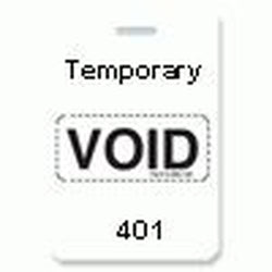 Reusable VOIDbadge White 401-500