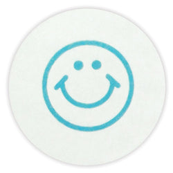 Half-day school expiring circle with happy face design