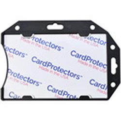 Black Rigid Shielded 1-Card Holder