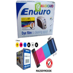 Magicard MA250YMCKOK Color Ribbon