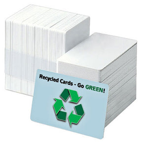 "Recycled PVC ID Card (CR80-Credit Card Size, 2.13"" x 3.38"")"