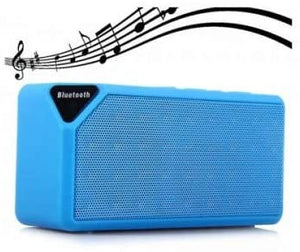 Bluetooth speaker X3 with super bass SD card mic support / Mobiles / Cars / Travel / Gifts