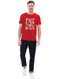 SWAGGER Round neck Mens Graphic T-shirt
