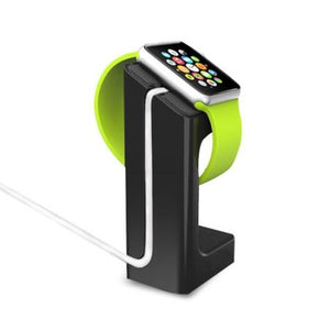 CHARGER STAND DOCK MOUNT FOR APPLE WATCH BLACK
