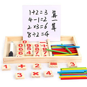 PUZZLE EDUCATIONAL CALCULATING BOX SET FOR KIDS