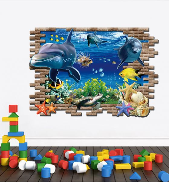 FINDING NEMO 3D WALL STICKERS
