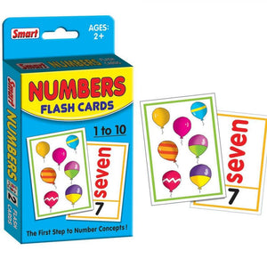 SMART - 40 FLASH CARD NUMBERS KIDS