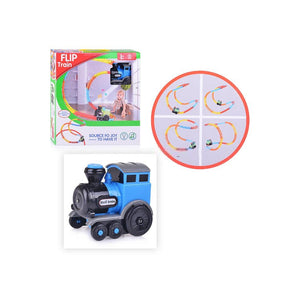 Flip Train with light and music toys kids