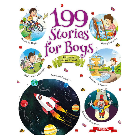 199 STORIES BOOK FOR BOYS