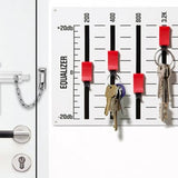 Unique Wall Key Holders Music theme Home Decor