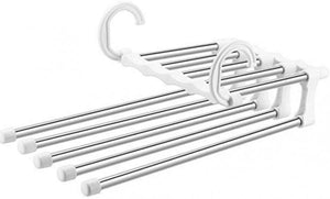 STAINLESS STEEL PANTS HANGERS JEANS CLOTHES ORGANIZER