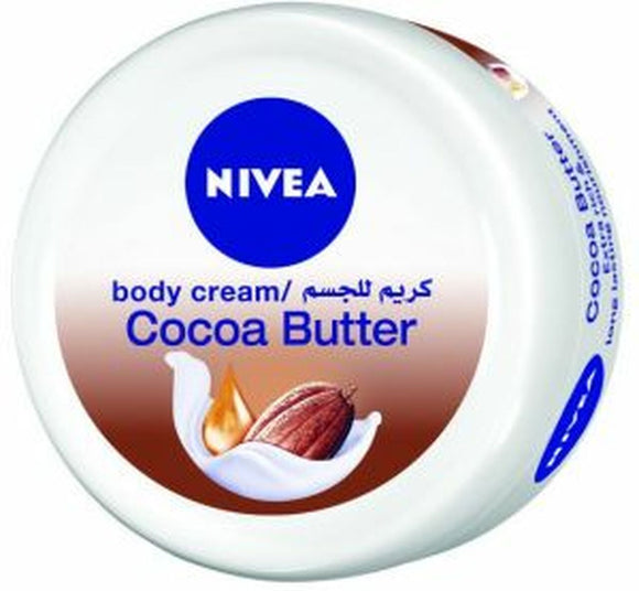 NIVEA COCOA BUTTER MOISTURIZING BODY CREAM 200ML