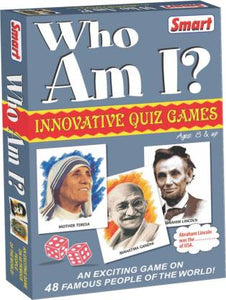 SMART WHO AM I ? EDUCATIONAL BOARD GAMES BOARD GAME