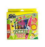 STIC YUMMIES STAMP & COLOR AET SET FOR KIDS