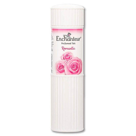 ENCHANTEUR ROMANTIC PERFUMED TALC, 250G