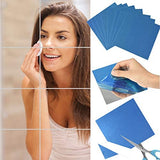 FLEXIBLE MIRROR SHEETS WITH SELF ADHESIVE BACK 16 PCS