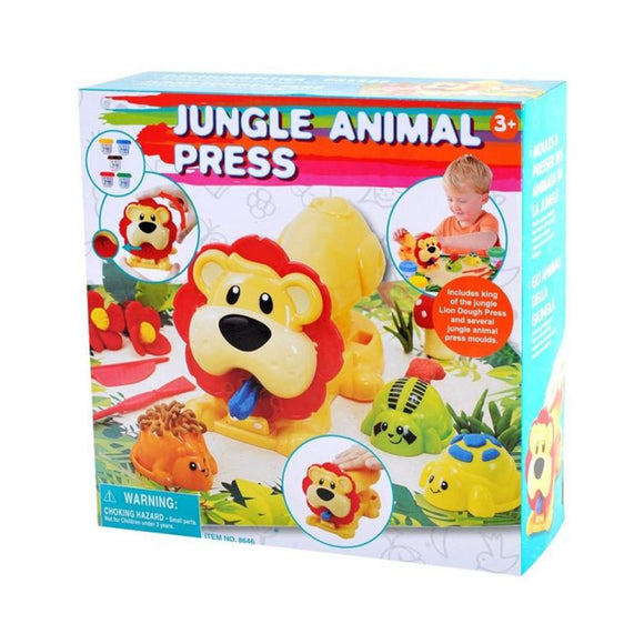 Playgo Jungle Animal Press toy
