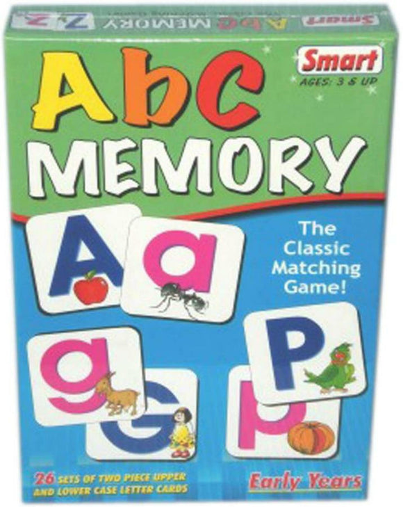 SMART ABC MEMORY EDUCATIONAL CARD GAME