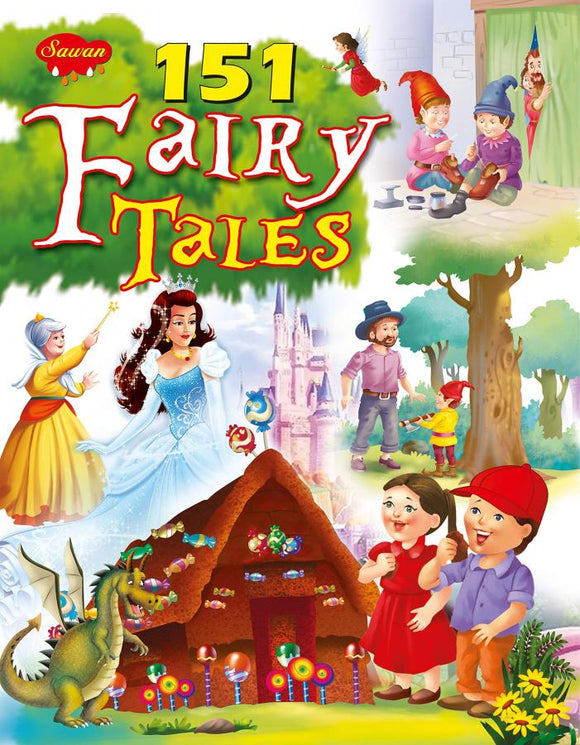 151 FAIRY TALES PERFECT PAPERBACK BOOK