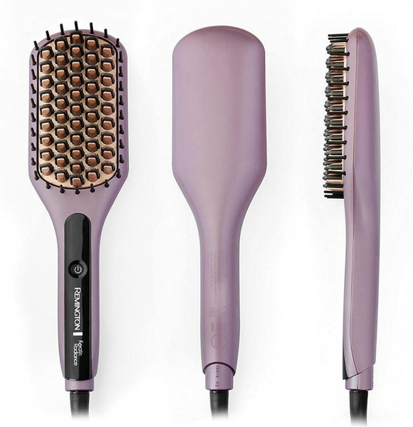 REMINGTON KERATIN PRO SLEEK & SMOOTH HEATED BRUSH