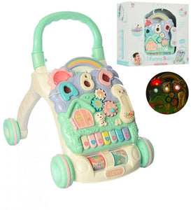 BABY MUSICAL MY FIRST STEP PUSH AND PULL TOY ACTIVITY BABY WALKER