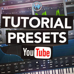 Free Serum youtube tutorial presets & wavetables pack download by Rocket Powered Sound