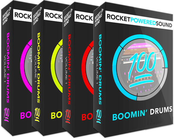 Add The Ultimate Dubstep Drum Pack - Rocket Powered Sound