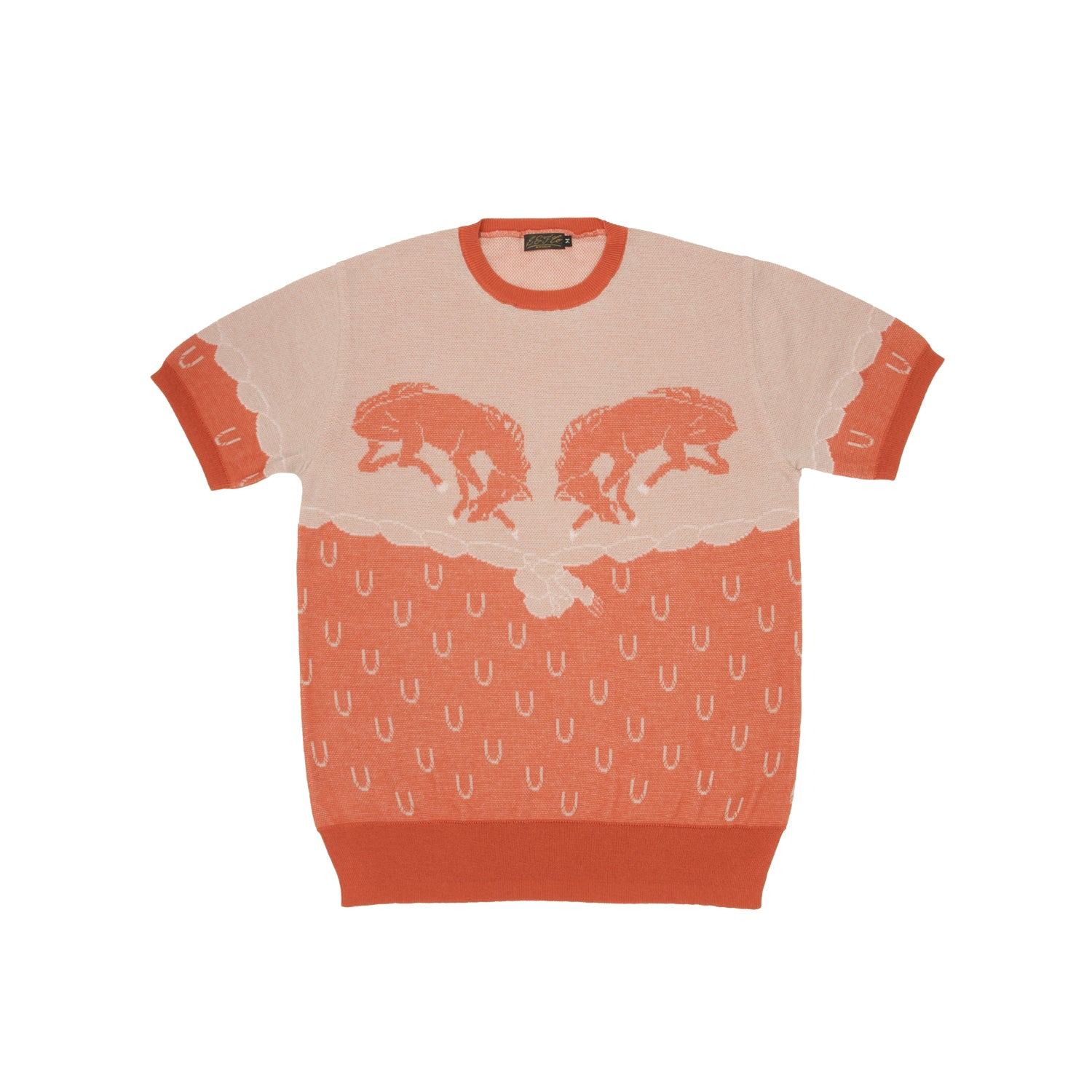 G&F Co.- TWIN HORSE_ORANGE