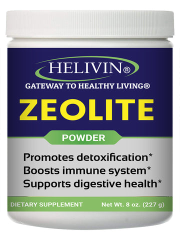 Helivin Zeolite for Detoxification – 8 oz. powder