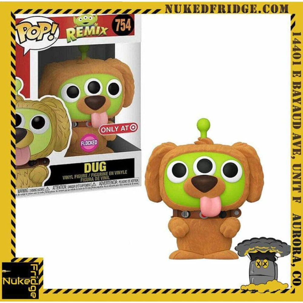Dug Alien Remix (Flocked) (Target Exclusive) | New in Box | 754 hvv