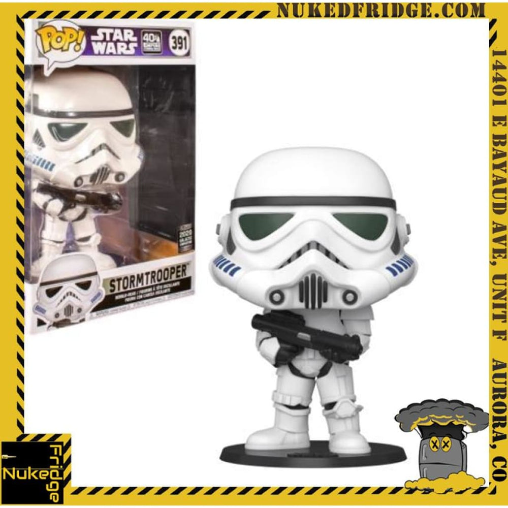 Stormtrooper 10in (Bobble-Head) (2020 Galactic Convention Exclusive) Funko Pop! 391 hvv