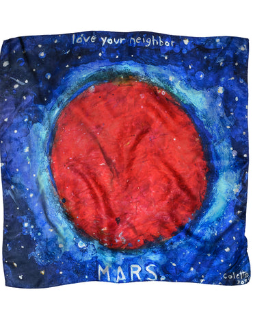 Mars Cotton + Silk Scarf