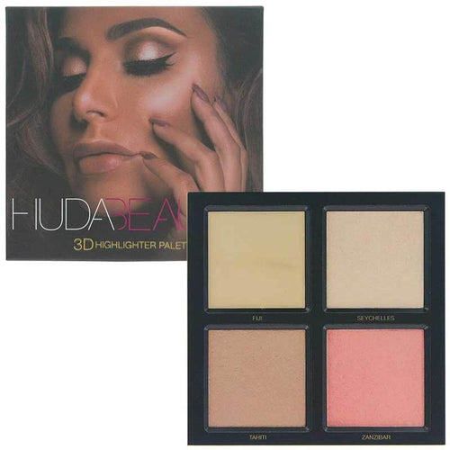 Huda Beauty 3D Cream and Powder Highlighter Palette - Caked South Africa