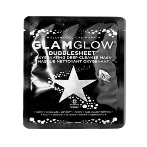 Glamglow Bubblesheet Oxygenating Deep Cleanse Mask - Caked South Africa