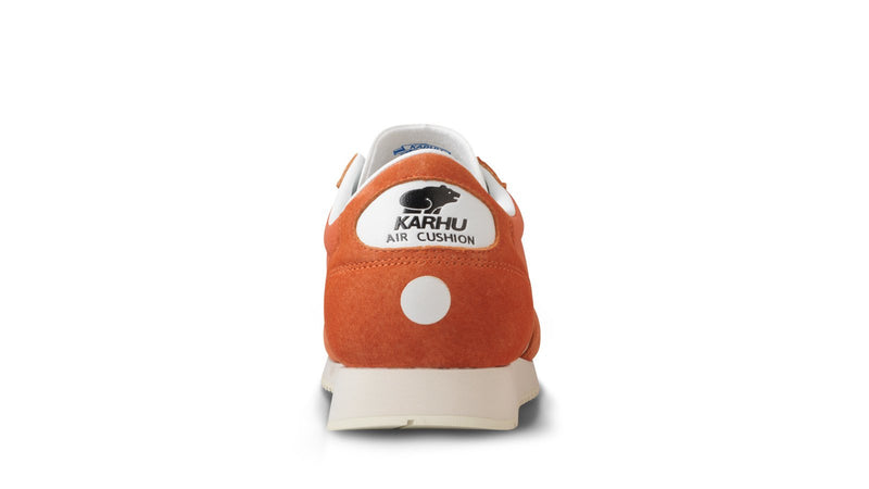 Karhu albatross burnt orange white Back of Shoe