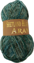 Load image into Gallery viewer, Woolcraft Shetland Heather Aran 100g