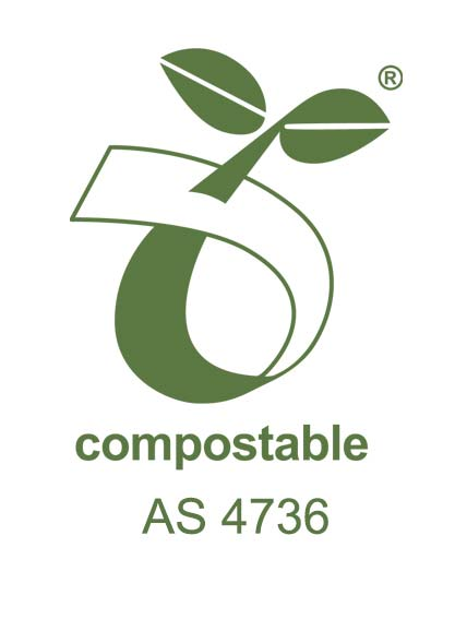 Australian Industrial Compostable certification AS 4736