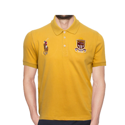 Yellow Authentic Polo Shirt