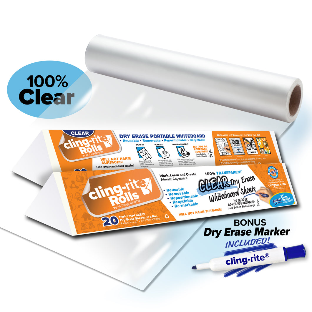 Clear Cling-rite® Roll