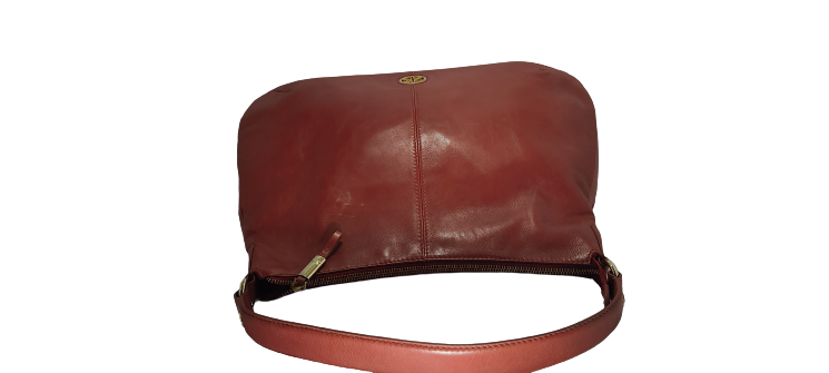 Handmade Genuine Leather Brown Ladies Handbag - JOYNAGAR