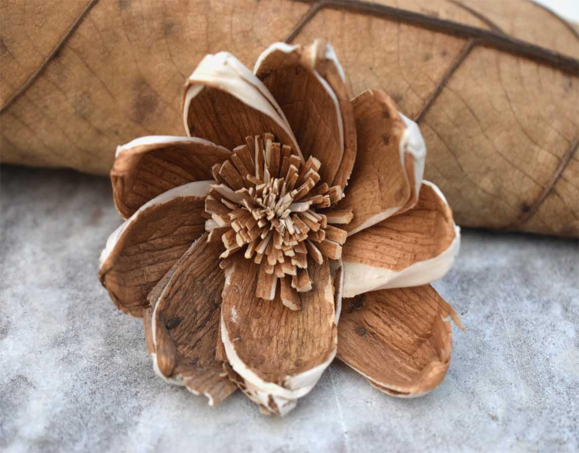 Milano Sola Wood Skin Flower