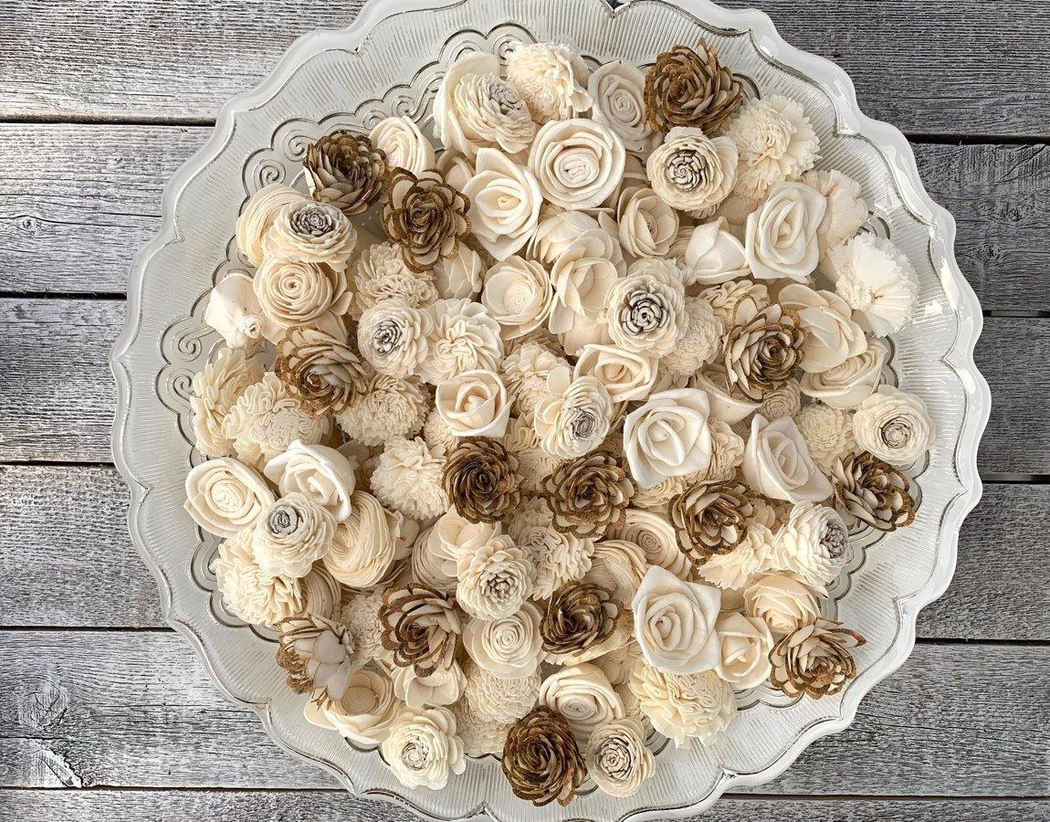 Mini Sola Wood Flower Assortment - JOYNAGAR