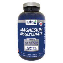Load image into Gallery viewer, (Bonus Size) Platinum Magnesium Bisglycinate - 50 or 150 or 300 or 390 vcaps