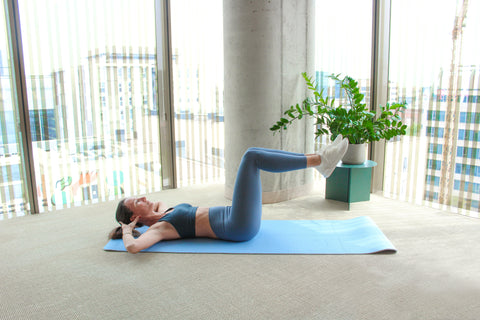 chair sit-up starting position