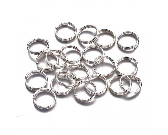 Split Ring - Platinum